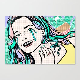 Pop Art - Quarter Life Crisis Canvas Print
