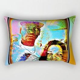 Set Apart: Space Age CandynTitius Rectangular Pillow