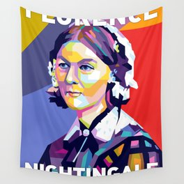 Florence Nightingale Wall Tapestry