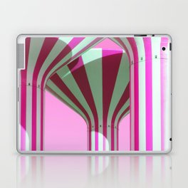 Pink Water Towers Laptop & iPad Skin