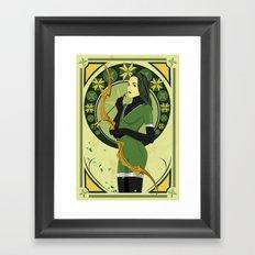 Savannah (Nouveau) Framed Art Print