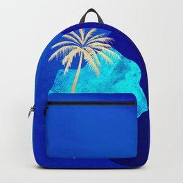 Golden Islands - Royal Blue Minimalist Backpack