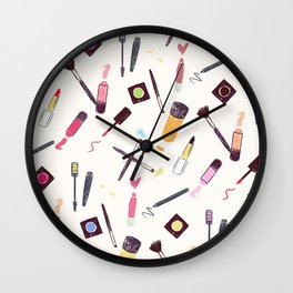 Lets Make up Vibrant Wall Clock