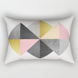 Minimalist fashion and golden Rectangular Pillow