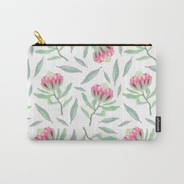 Protea pattern Carry-All Pouch