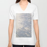 shadow V-neck T-shirts featuring Shadow by Rose Etiennette