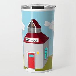 The Ole School House Travel Mug
