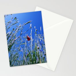 poppy flower no4 Stationery Cards