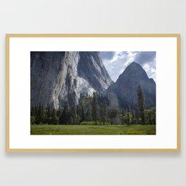 Yosemite Photography, Yosemite National Park, Hiking, Great Outdoors, Exploring, Camping, Forest Art Framed Art Print