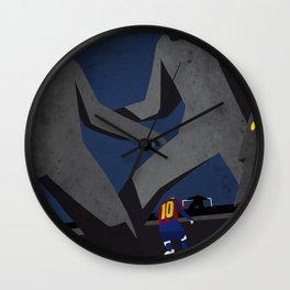 Leo and the monsters Wall Clock