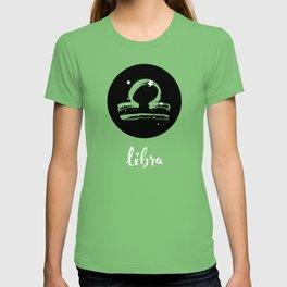 Libra Zodiac Watercolor T-shirt