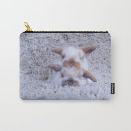 Bunny pile up Carry-All Pouch