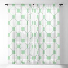 De York Tiled | Beautiful Interior Design Sheer Curtain