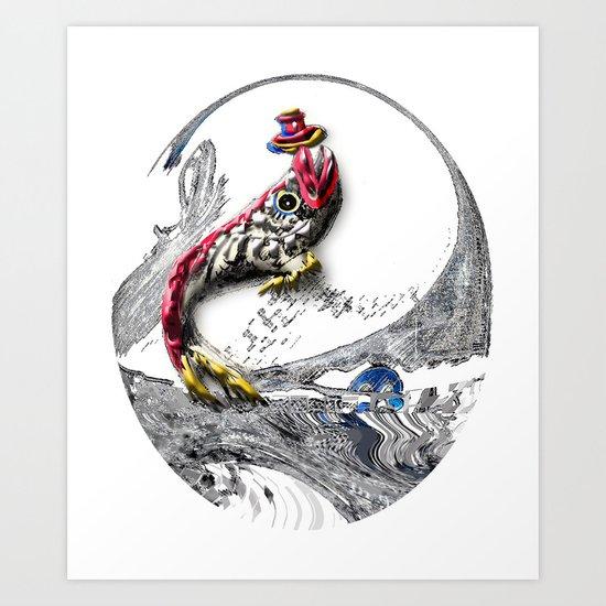 Fish Fun Art Print