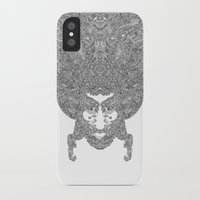 afro iPhone & iPod Cases featuring AFRO by varvar2076