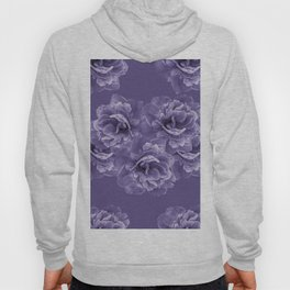 Ultra Violet Peony Flower Bouquet #1 #floral #decor #art #society6 Hoody