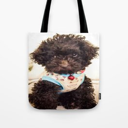 Coco the Puppy Tote Bag