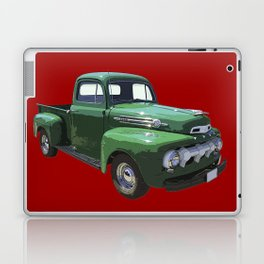 Green 1951 Ford F-1 Pickup Truck  Laptop & iPad Skin