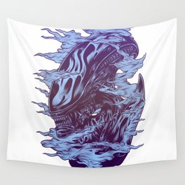 Run. Hide. Survive. Wall Tapestry