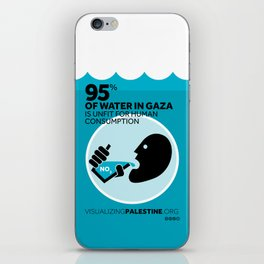 Gaza Water: Confined & Contaminated iPhone Skin