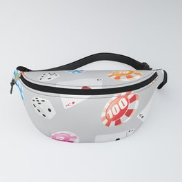 #casino #games #accessories #pattern 8 Fanny Pack