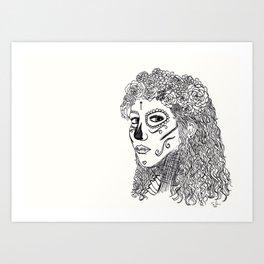 La Catrina Art Print