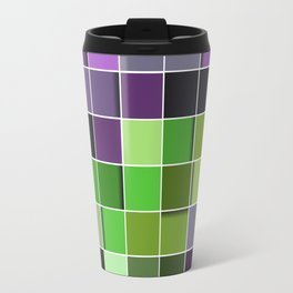 3D PATTERN SQUARE Travel Mug
