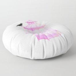 Brooke Figer - PRETTY smart BIRD Floor Pillow