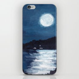 The Bay//Moon Reflections on water iPhone Skin