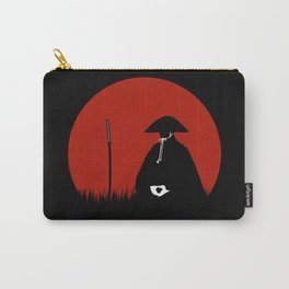 Meditating Samurai Warrior Carry-All Pouch