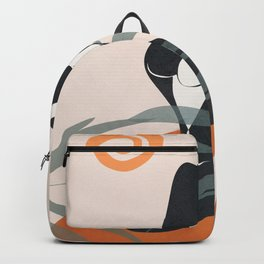 Abstract Female Figure 21 Backpack