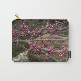 Eastern Redbud Branch Carry-All Pouch