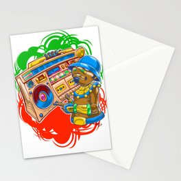 AM Radio Stationery Cards