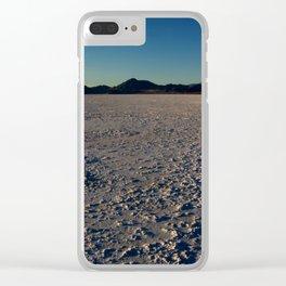 Bonneville Salt Flats - Utah Clear iPhone Case