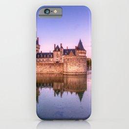 Sully sur Loire at sunrise, Loire valley, France. iPhone Case