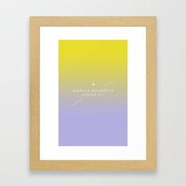 Marilia Boaretto Framed Art Print