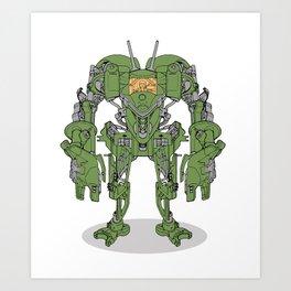 Culprit Tech Robot #5 Art Print