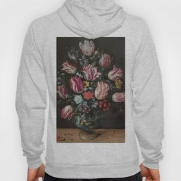 Vase with Tulips - Frans Francken the Younger Hoody