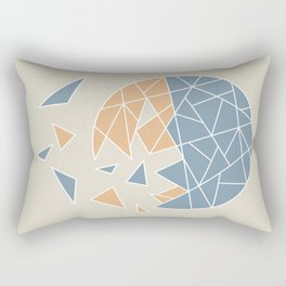 DISASTER (abstract geometric) Rectangular Pillow