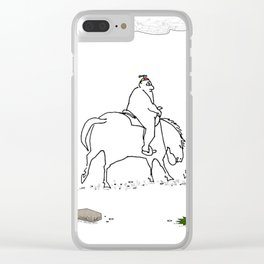 Cyclops Riders on the Storm Clear iPhone Case