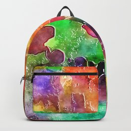 Watercolor Wash Backpack