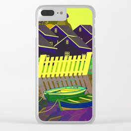 Norway 10 Clear iPhone Case