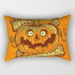 Halloween orange Rectangular Pillow