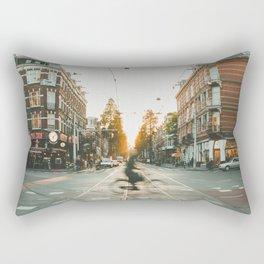 Amsterdam Bike Rectangular Pillow