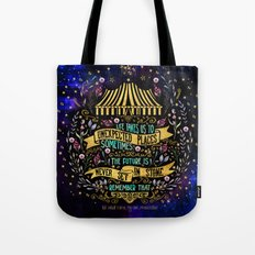The Night Circus- Unexpected Places Tote Bag