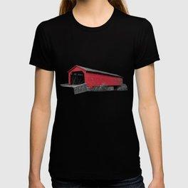 Utica Mills Covered Bridge T-shirt