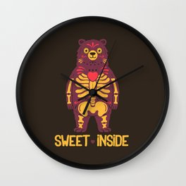 Sweet Inside Wall Clock