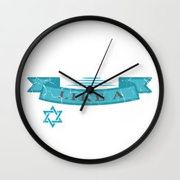 Party Like A Lox Star Jew And Joker Gift Wall Clock
