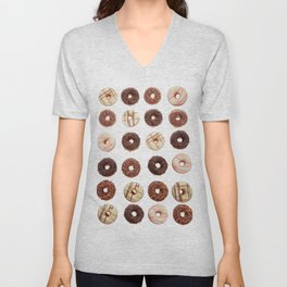 Donut Mania Unisex V-Neck