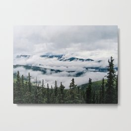 Cloud Flow Metal Print